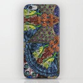 Psychedelic Botanical 6 iPhone Skin