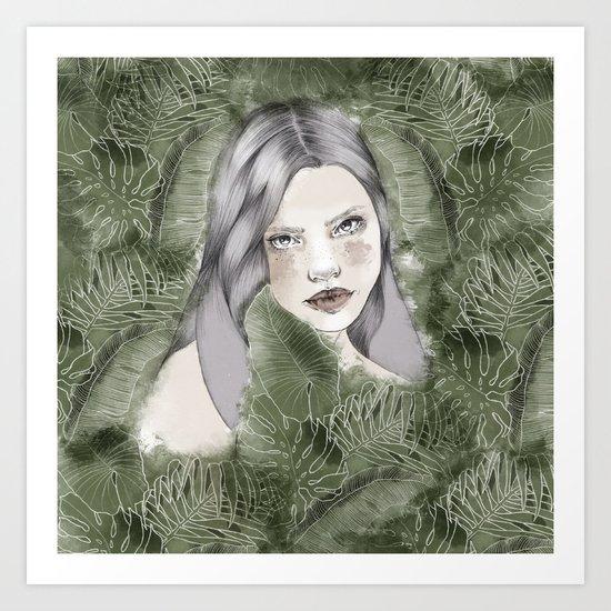 Jungle. Art Print