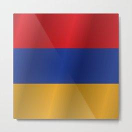 Flag of Armenia Metal Print