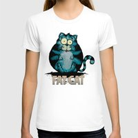 my mad fat diary T-shirts featuring Fat Cat by mangulica