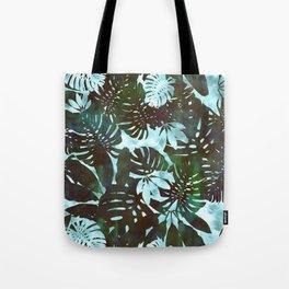 Motuu Tropical Minty Green Tote Bag