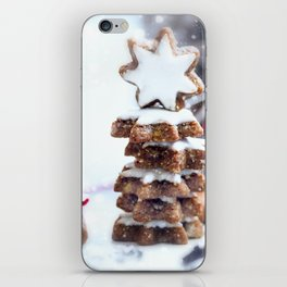 Christmas bakery iPhone Skin