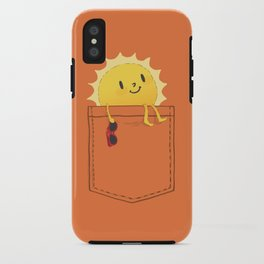 Pocketful of sunshine iPhone Case