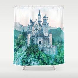 Hilltop Castle Shower Curtain