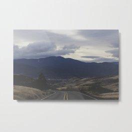 Route 66 zoom Metal Print