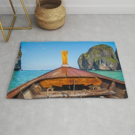 South Pacific Boat Launch Rug