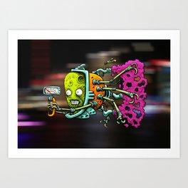 VROOOM Art Print
