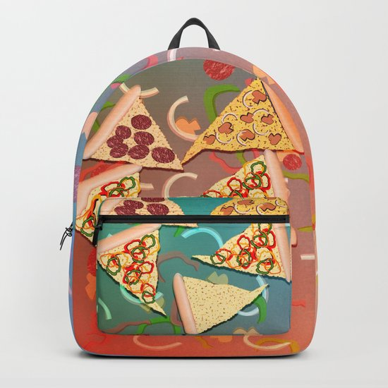 Pizza (A Reverie) Backpack