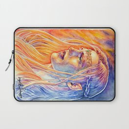 Facing The Flames Laptop Sleeve