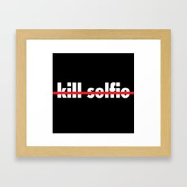 crossed Framed Art Print