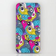 Idiot Bird Pattern iPhone & iPod Skin