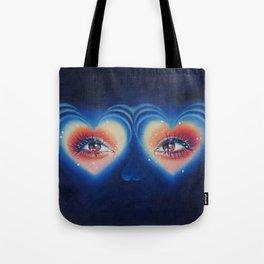 Heart eyes 4 U Tote Bag