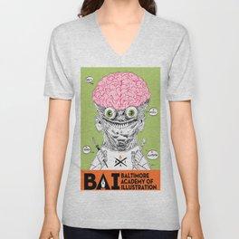 brainguy Unisex V-Neck