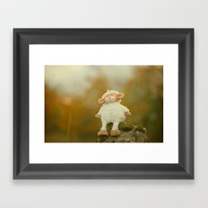 Just Sitting in the Evening Sun Framed Art Print