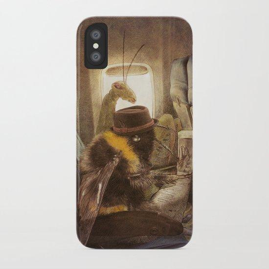 Flight of the Bumblebee iPhone Case