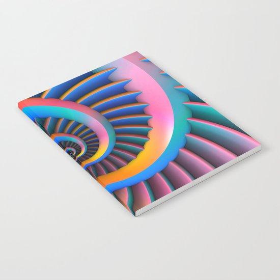 Opposing Spirals Notebook
