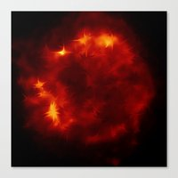 dragon ball Canvas Prints featuring Fire ball the red Side of Life - join the dragon by Ars Infinity - @ Roland Zulehner
