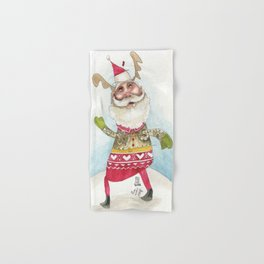 Steampunk Santa Hand & Bath Towel