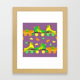 Fruit Roll Framed Art Print
