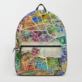 Edinburgh Street Map Backpack