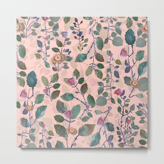 pink garden#pink Metal Print