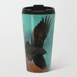 Soaring Crow Travel Mug