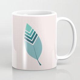 Tribal Leaf Coffee Mug