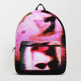 50s Girl Glitch Grain Art Backpack