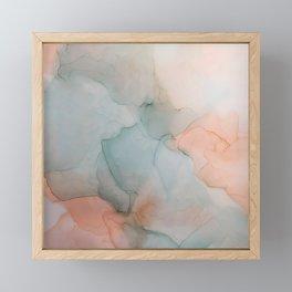 Fluidity I Framed Mini Art Print