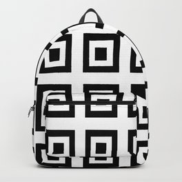 Tribute to mondrian 6- piet,geomtric,geomtrical,abstraction,de  stijl, composition. Backpack