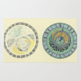 Astrolabe Studies Rug
