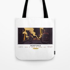 Ironforge Classic Rail Poster Tote Bag