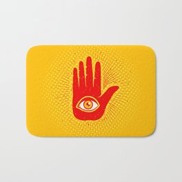Hand and eye Bath Mat