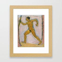 Koloman Moser - The Wayfarer, 1914 Framed Art Print