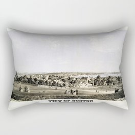 Boston 1854 Rectangular Pillow