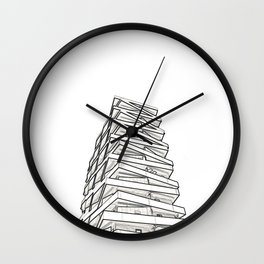 Architecture: Tule Towers Wall Clock