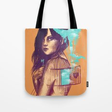 We Must Be Free Tote Bag