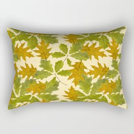 Leaves Camouflage Pattern Rectangular Pillow