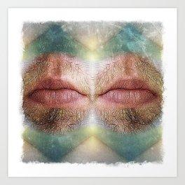 Mouthism Art Print