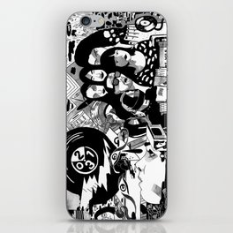 Sound & Vision: 2013 in Music by Steven Fiche iPhone Skin