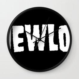 A New Low classic logo Wall Clock