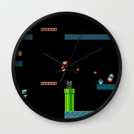 Mario Underworld Wall Clock