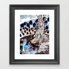 Hyacinths. Framed Art Print