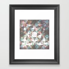 The moons and stars Framed Art Print