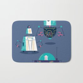 :::Mini Robot-Nanoi::: Bath Mat