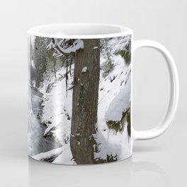The Wild McKenzie River Waterfall - Nature Photography Coffee Mug