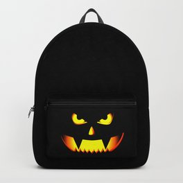 Scary Halloween Pumpkin design Gift For Halloween Party Backpack