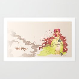 Tamaura of the Forest Art Print