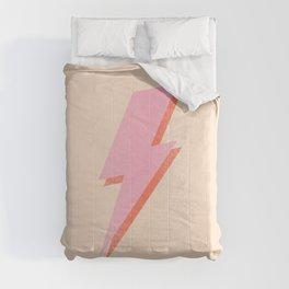 Thunderbolt: The Peach Edition Comforters
