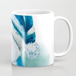 Blue Snowman 02 Coffee Mug